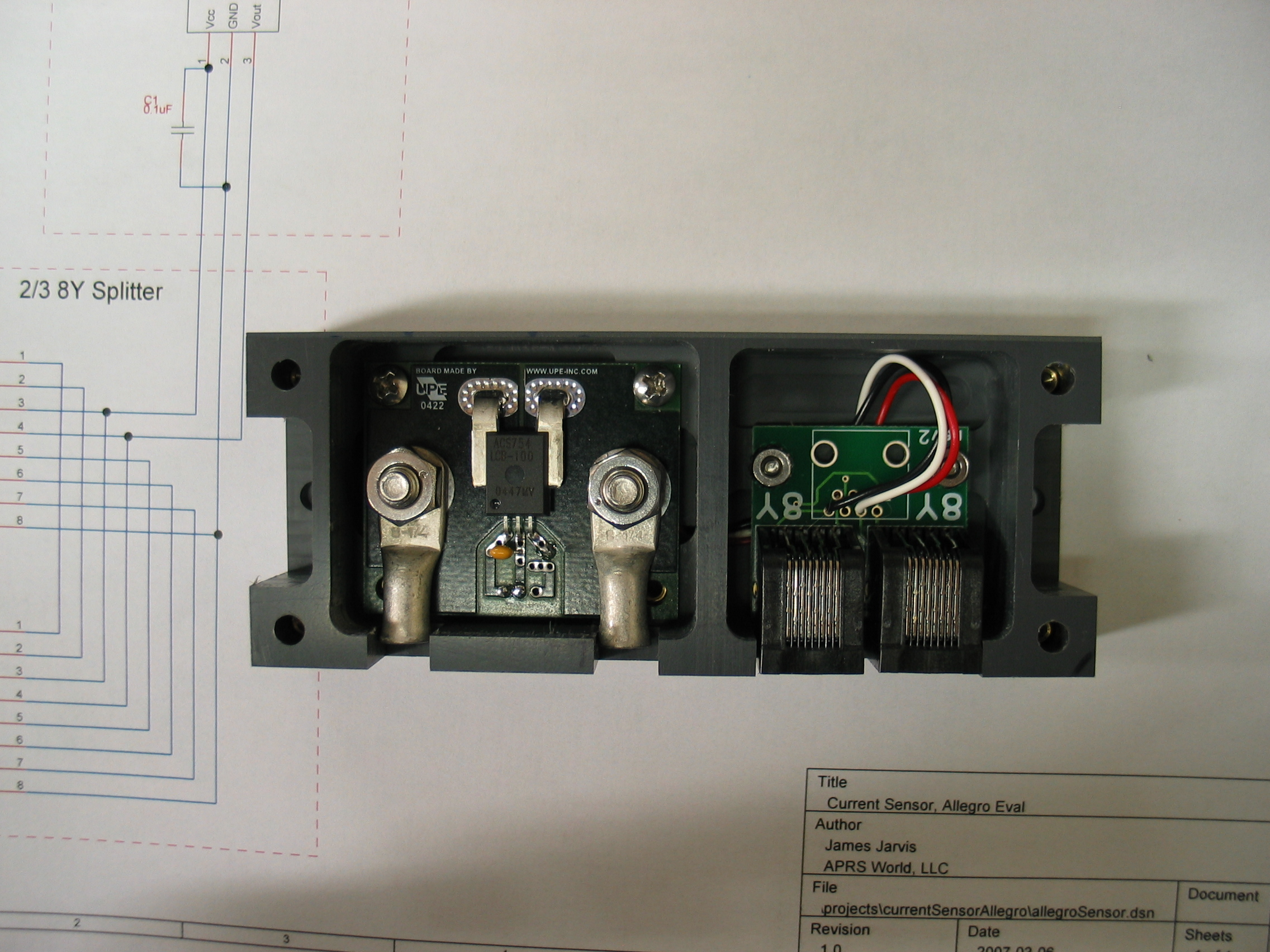 100 Amp Current Sensor That Is Compatible With The Wind Data Logger Hall Effect Wiring View Full Size Slideshow