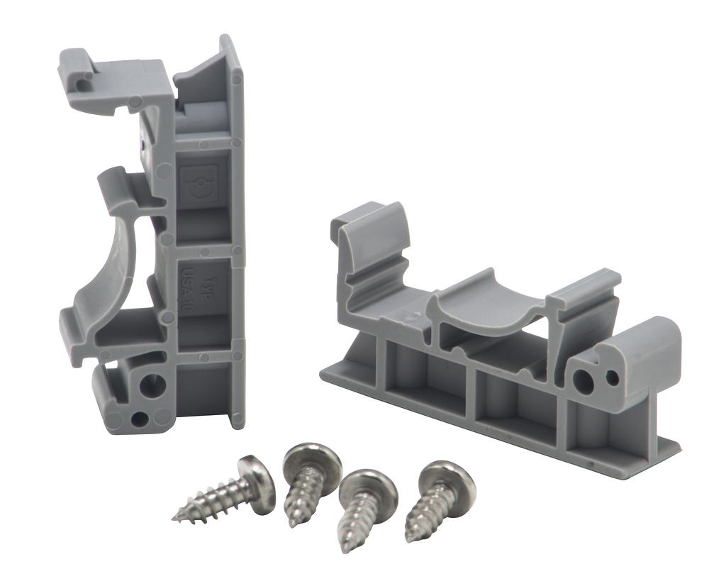APRS6575: DIN Rail Mounting Clips and Screws